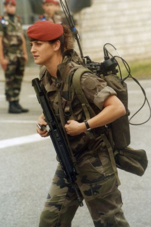 French Army Women French army. | ...