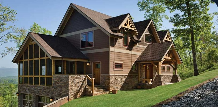 Pin by al grant on timber frame pinterest for Different home designs