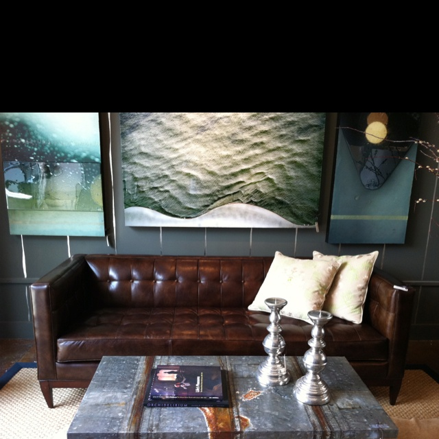 Love The Vintage Leather Sofa