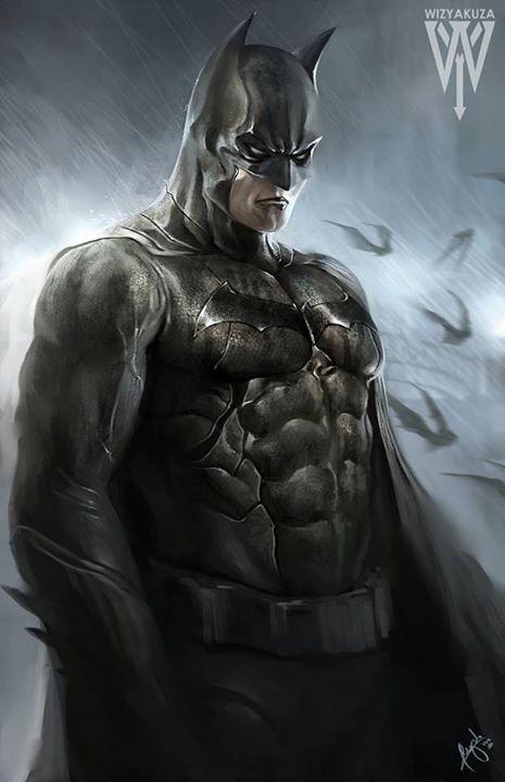 Batman by @wizyakuza.