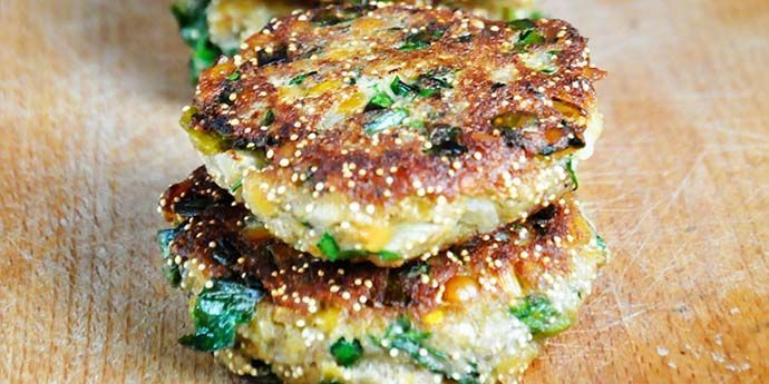 Protein-Rich Lentil Amaranth Patties Chiftelute de amaranth linte rosie recipe