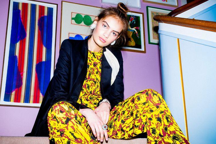 Holly Golightly Copenhagen - SS16 Campaign / Photo: Trine Hisdal / Styling: Julie Svendal / Instructors: Tone Reumert & Julie Svendal / Make-up: Pernille Holm / Model: Nina Marker - Elite Models / MARNI / RICK OWENS