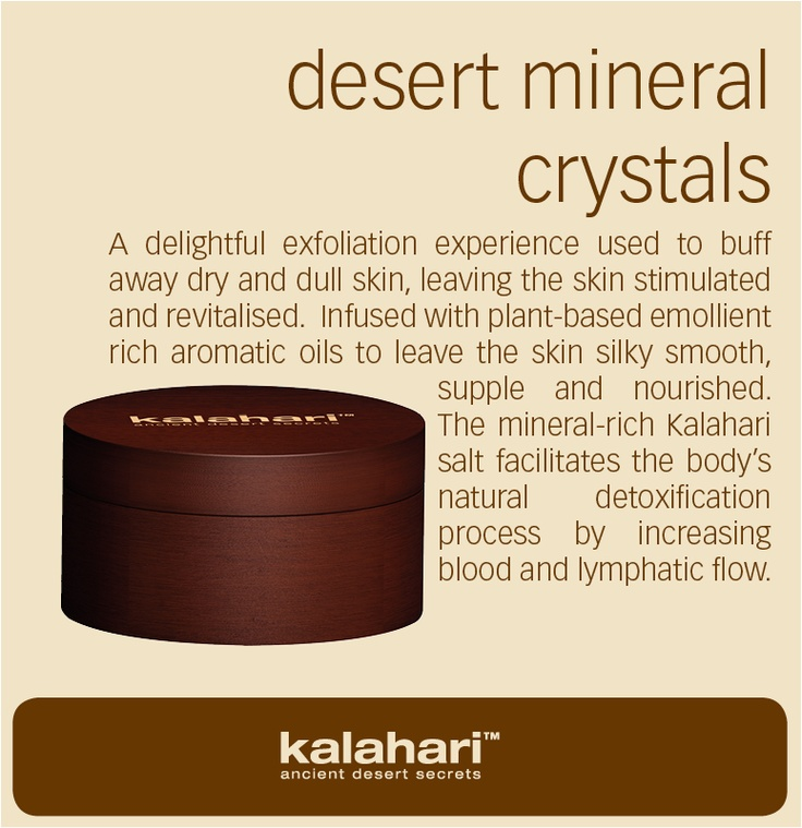 www.kalaharistyle... Kalahari is available in an exclusive range of products including body, spa, lifestyle and hotel amenities