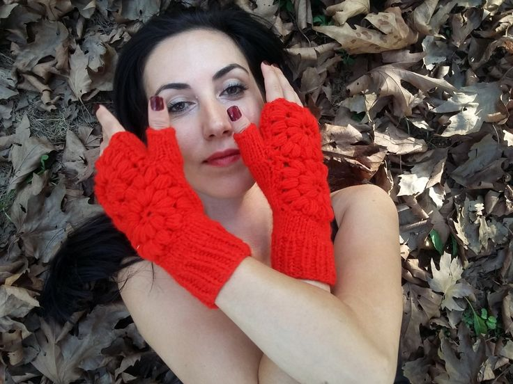 Women Knitted Gloves, Mittens Gloves, Hand Knitted Gloves, Crochet Fingerless, Knitted Arm Warmer, Fingerless Gloves, Winter Knitted Gloves    100% 1st class. Quality Red ropes are used. These fingerless. Soft, comfortable glove. Elegant was built. Style Gloves. Over the flowers were committed. Learn to keep warm in winter. Relatives my brother, my friend. gift may be an alternative.  For best results, wash your hands cool and dry flat. Dry or iron, no bleach tumble.  Deliveries will then be…