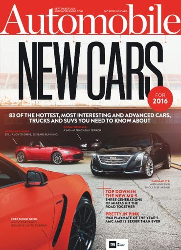 Automobile Magazine Subscription, 12 Digital Issues | Zinio - The World's Largest Newsstand