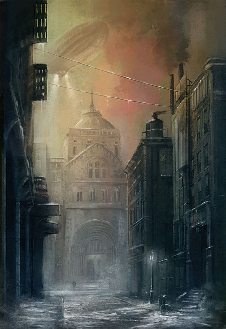 Gotham Street from Batman: Arkham City