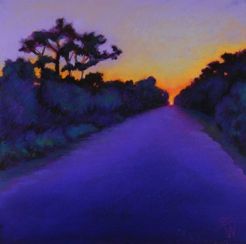 Beth Williams - Leaving the Lighthouse - pastel by ©Bethwww.bethwilliamspastels.com
