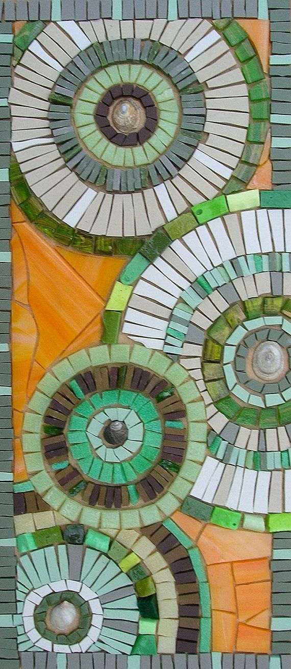 Hey, I found this really awesome Etsy listing at https://www.etsy.com/listing/176071084/abstract-green-circles-mosaic-blank