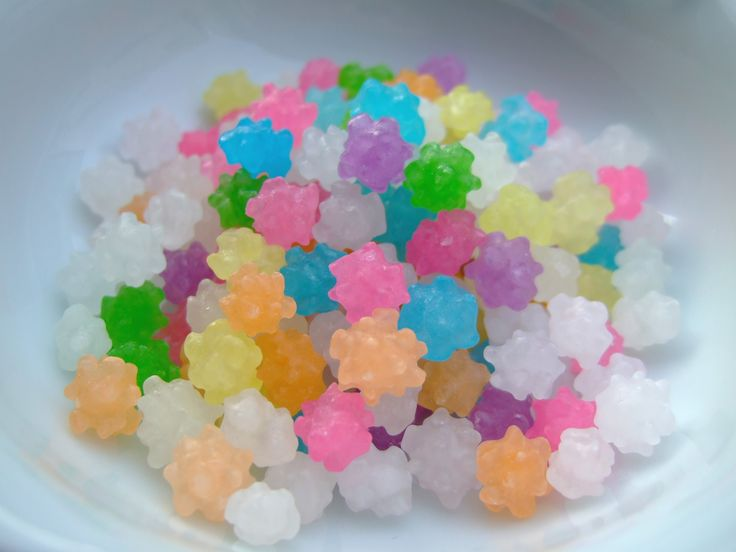 Konpeito... For your soot sprites : )