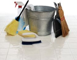 Homemade Cleaning Supplies - lots of different homemade cleaning recipes.
