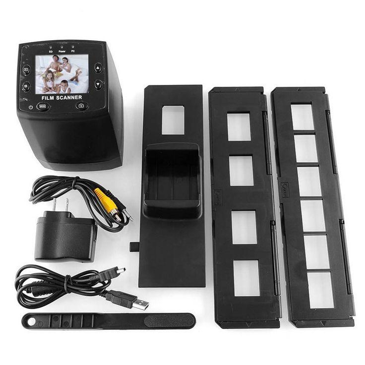 2016 Portable Scanner 5MP 35mm Negative CMOS 100 Scans Per Second Film Viewer Scanner USB Color Photo Copier Slide B&W Viewer