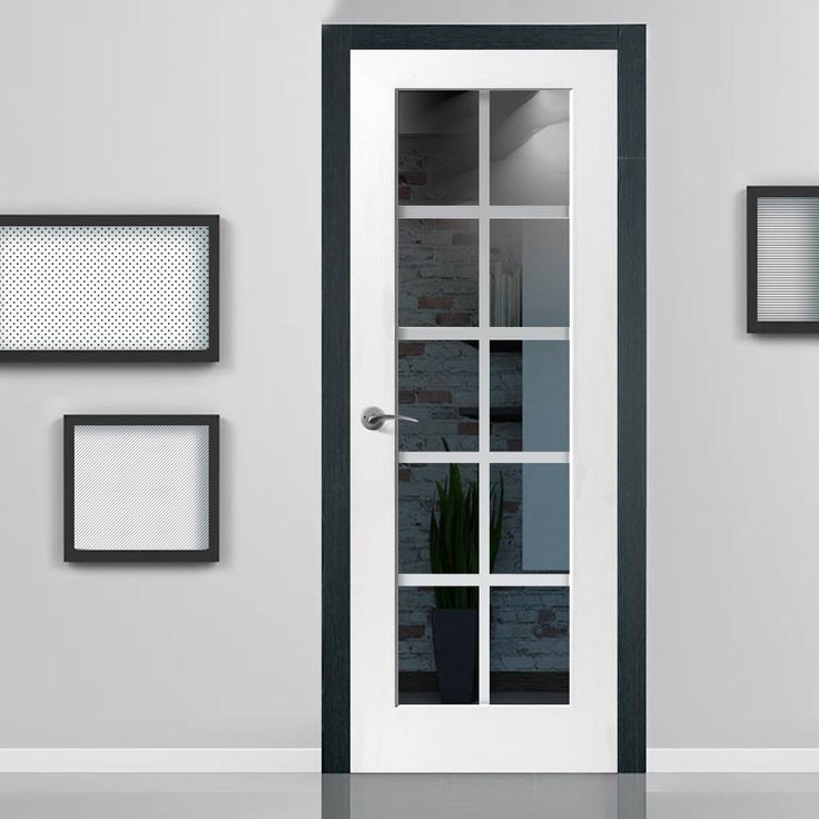 100 best internal white glass doors images on pinterest safety decca white primed door with etched lines on clear glass planetlyrics Gallery