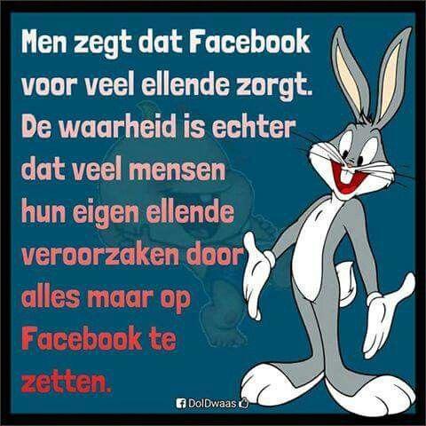 Men zegt dat Facebook voor veel ellende zorgt ...