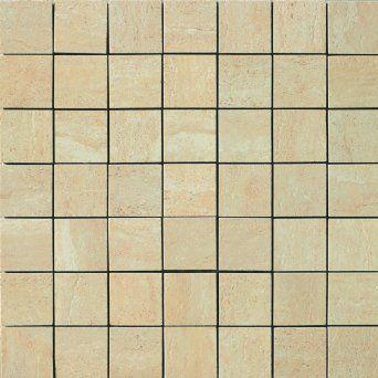 Samson 1037076 travertini matte 2x2 mosaic for 16 inch floor tile