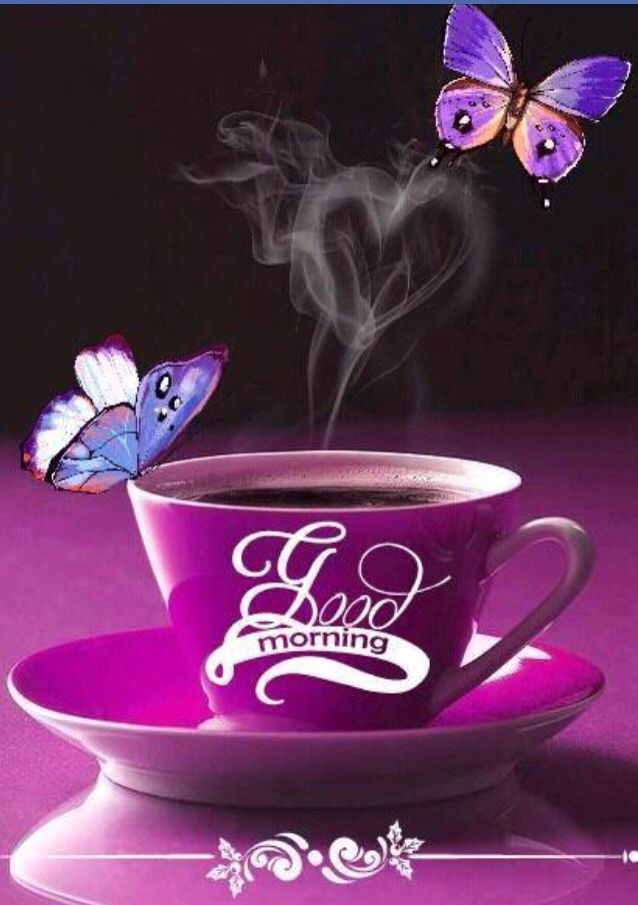 Good Morning Saturday Purple : Images about coffee hearts on pinterest heart