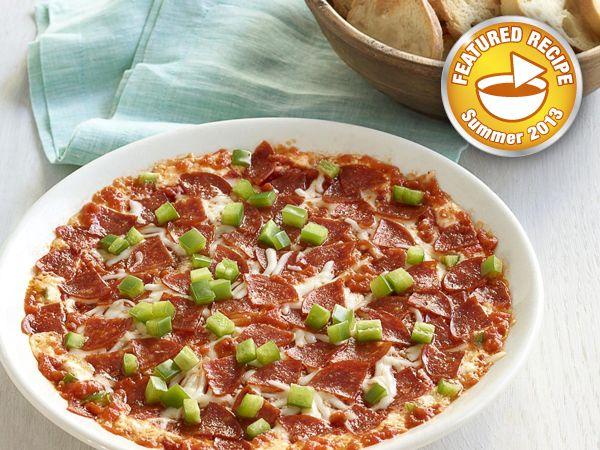Layered Pizza Dip
