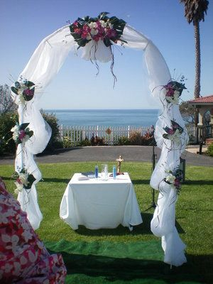 1000 ideas about simple wedding arch on pinterest for Archway decoration ideas