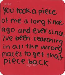 I wanne be your whole puzzle.... piece by piece I wanne show you my love for you!