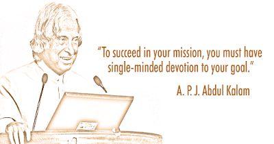 S R Initiatives: Dr. A.P.J. Abdul Kalam Azad