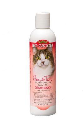 CAT FLEA SHAMPOO - CAT FLEA AND TICK SHAMPOO - 8 OZ - BIO-DERM LABORATORIES, INC. - UPC: 21653180086 - DEPT: CAT PRODUCTS