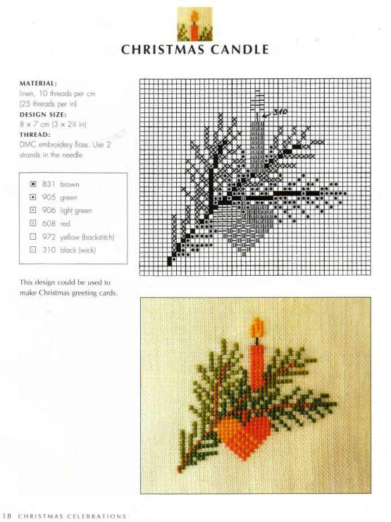Gallery.ru / Фото #117 - Scandinavian cross stitch designs - simplehard