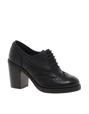 ASOS PIMLICO Leather Heeled Brogues $97.89