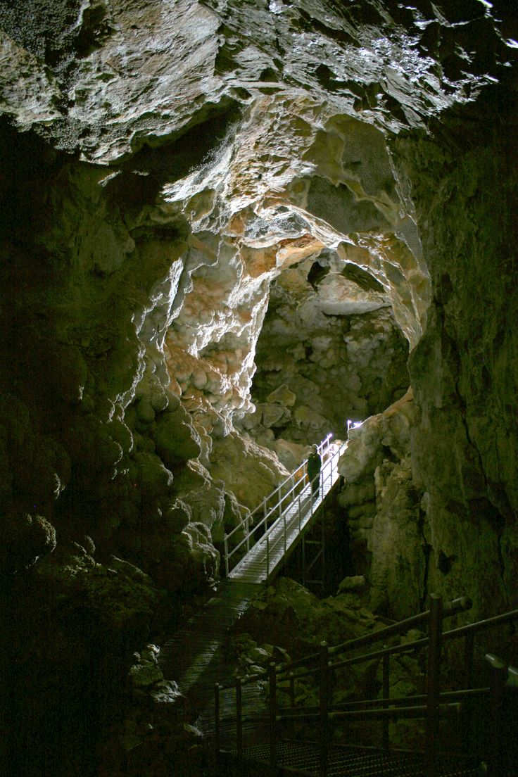 Jewel Cave National Monument, Black Hills SD. The Second longest cave in the world, at 159.24 miles.