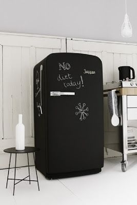 Simplette: DIY - Relooker le frigo Relook the fridge