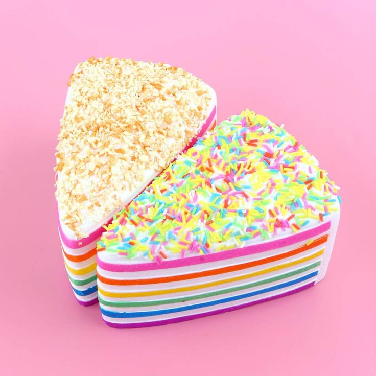 Squishy jumbo anti stress cake