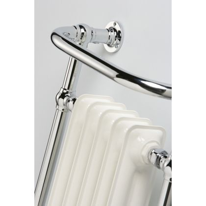 Kingston Heated Towel Rail - Chrome 952 x 659mm