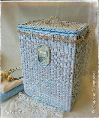 Поделка изделие Плетение Монтерано и малахитовая шкатулка Трубочки бумажные фото 1
