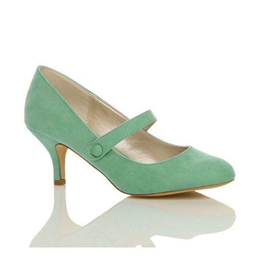 Damen Hoher Absatz Mary Jane Formal Abend Party Ball Pumps Schuhe Größe 8 41 - http://on-line-kaufen.de/ajvani/41-eu-8-uk-damen-hoher-absatz-mary-jane-formal-abend-27