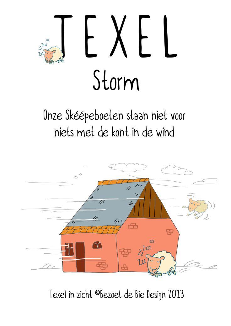 de decemberstorm…op Texel zijn wij wel wat gewend