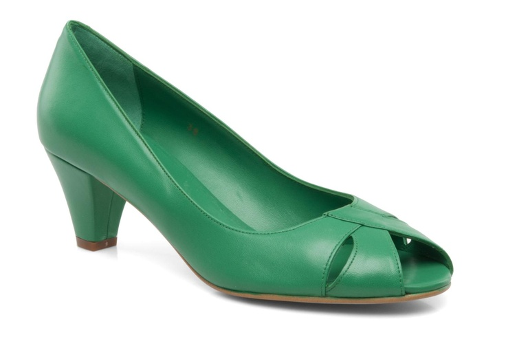 peep toe verde