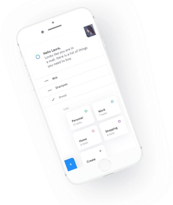 Meet Dona, AI powered to-do list app.