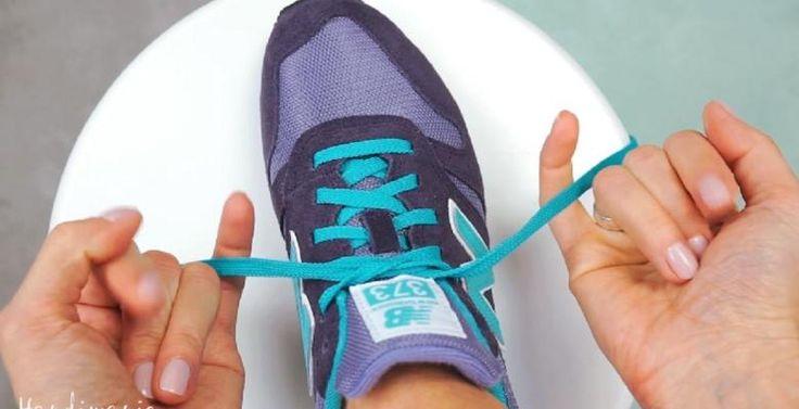 Sa technique pour lacer ses chaussures fait le tour du net!! L'avez-vous vu!? - Trucs et Astuces - Trucs et Bricolages