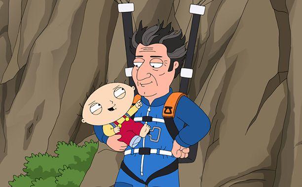 Family Guy season 15 features Peter as Quagmire's pimp, Doctor Who parody…