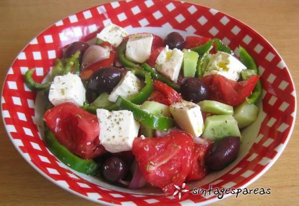 Greek salad  #cooklikegreeks #salad