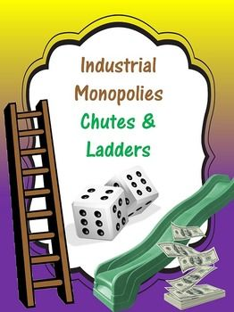 This is a monopoly-themed game of chutes and ladders (focused around a fictional wireless phone company).  It is a low-stress and fun way for to introduce students to what a monopoly is, how it is created, and the ways  in which it impacts the consumer.The download includes the game board and post-game reflection questions.The teacher will need to provide dice for each game board and game pieces for all players (pennies, dried beans, etc.)