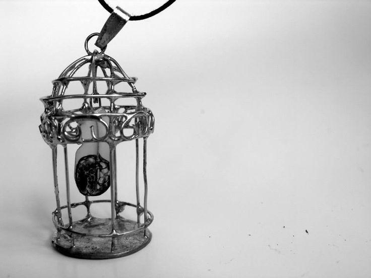 bird cage necklace from muru buru