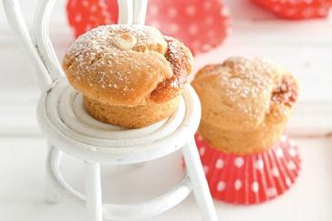 Gooey caramel muffins http://www.taste.com.au/recipes/28829/gooey+caramel+muffins