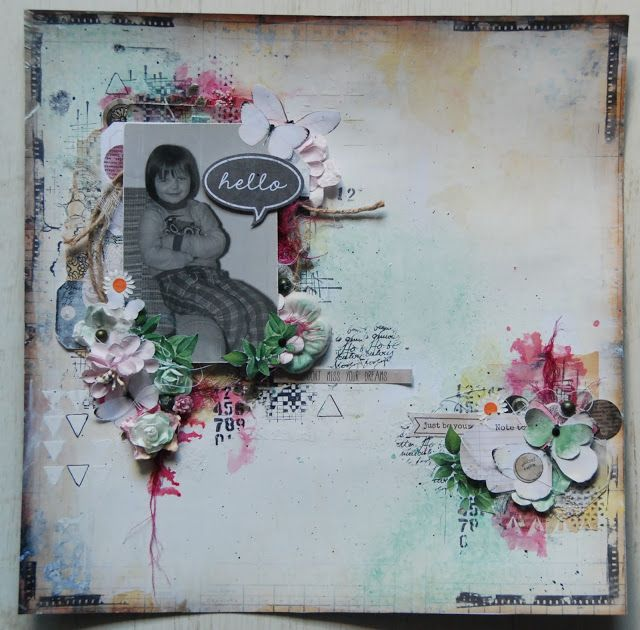Layout created during classes with Anna Rogalska by Ewa