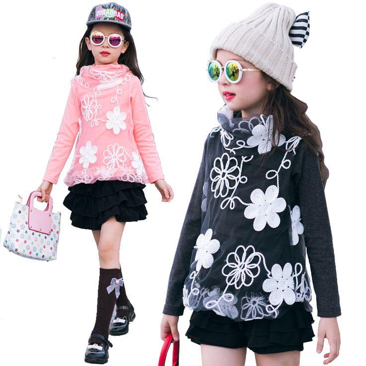 Купить товар2016 зима детская одежда для девочек пуловеры мода кружева сгущает руно высокий воротник девочка свитера для девочек топы в категории Свитерана AliExpress. 2016 зима детская одежда для девочек пуловеры мода кружева сгущает руно высокий воротник девочка свитера для девочек топы