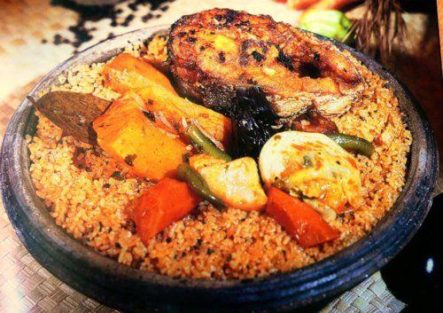 Tchep bou djen riz gras senegalese food delicious for Cuisine senegalaise