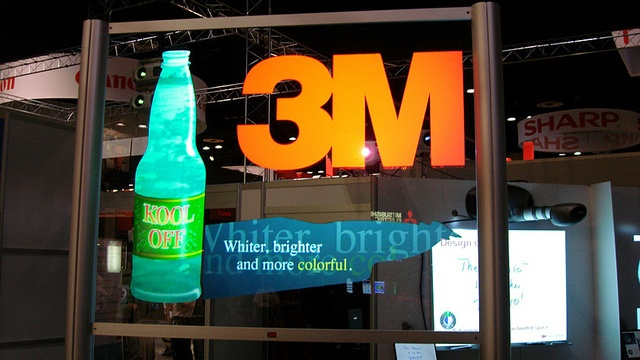 3M Booth by Spyeglass, via Flickr