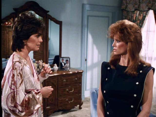 Dallas Pamela Ewing and Sue Ellen Ewing