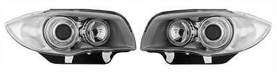 Bmw 1 #series e87 5 door #hatch #2004-3/2007 chrome angel eyes headlights pair,  View more on the LINK: 	http://www.zeppy.io/product/gb/2/361753583804/