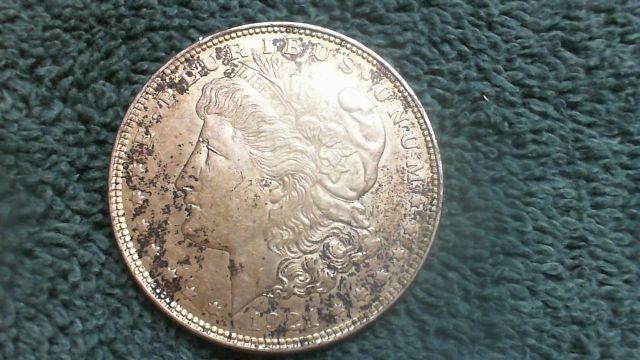 1921 Morgan Silver Dollar  R8T2