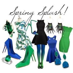 Spring Splash with Virivee . . . . .  #flower #chic #spring #inspiration #printemps #green #bag #shoes #blue #electricblue #nude #cute #happy #young #fashion #virivee #legwear #ombre #tights #elegant #party #hosiery #pantyhose #style #strumpfhose #calze #パンスト