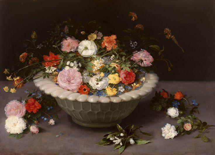 Натюрморт с цветами (1615) (Мадрид, Прадо)